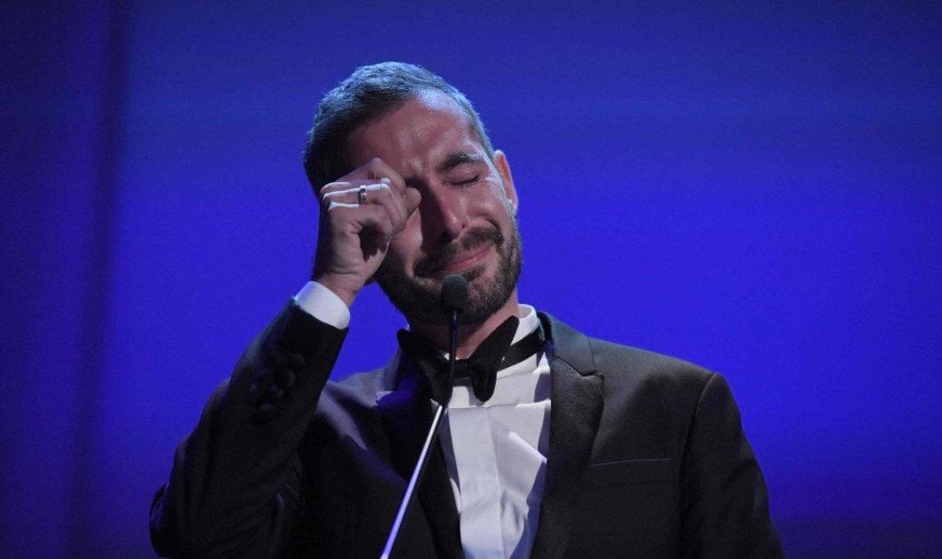 Όταν τα δάκρυα είναι από χαρά: 24 κλικς στον Xavier Legrand που έκλαιγε επί ώρα όταν παραλάμβανε τον Αργυρό Λέοντα στη Βενετία (ΦΩΤΟ) - Κυρίως Φωτογραφία - Gallery - Video