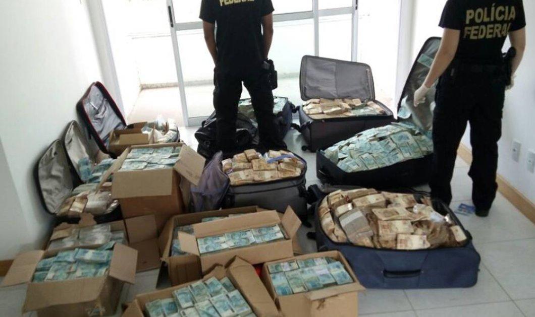 Σε κούτες & βαλίτσες: σε σπίτι πρώην υπουργού η μεγαλύτερη κατάσχεση μετρητών στην ιστορία - Κυρίως Φωτογραφία - Gallery - Video