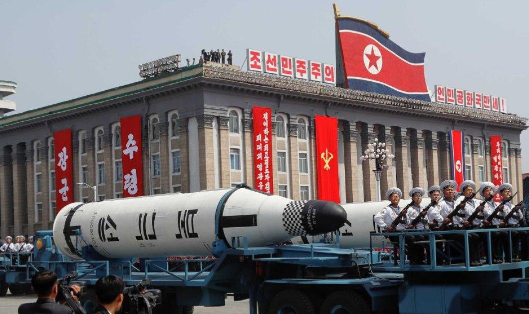 Νέες απειλές της Βόρειας Κορέας για χρήση πυρηνικών όπλων: Θα βυθίσουμε την Ιαπωνία και θα εξαλείψουμε τις ΗΠΑ - Κυρίως Φωτογραφία - Gallery - Video