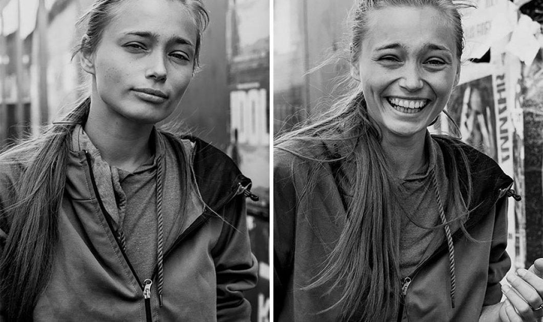 Πώς είναι το πρόσωπό μας αφού μας φιλήσει ένας ξένος; Αυτή η φωτογράφος έφτιαξε πορτραίτα και μας δείχνει - Κυρίως Φωτογραφία - Gallery - Video
