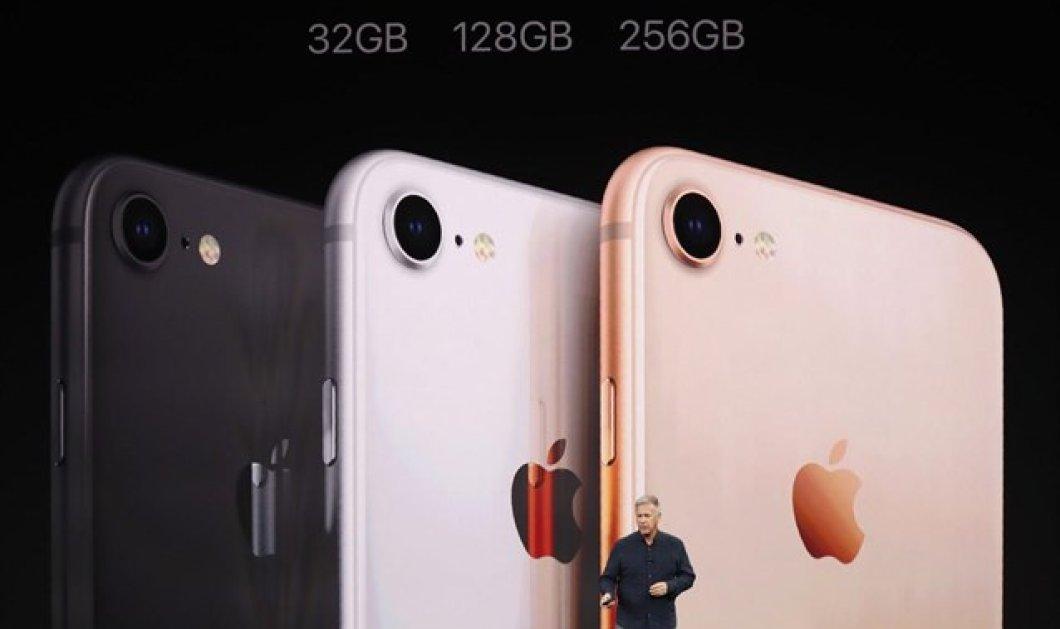 Η Apple αποκάλυψε τα νέα iPhone X, iPhone 8 & iPhone 8 Plus - Κυρίως Φωτογραφία - Gallery - Video