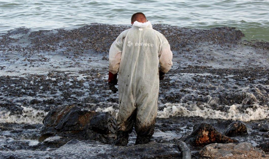 Στο επίκεντρο η απάντληση καυσίμων που προκάλεσαν τη ρύπανση του Σαρωνικού - Κυρίως Φωτογραφία - Gallery - Video