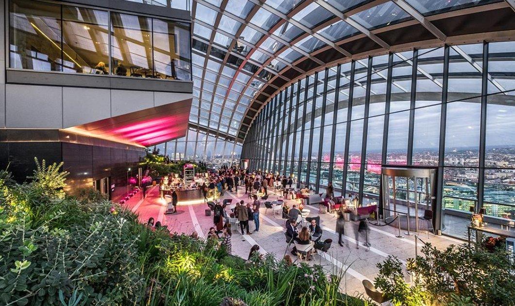Τα πιο εντυπωσιακά εστιατόρια στον κόσμο φτιαγμένα με γυαλί από το Λ. Άντζελες ως τη Βιέννη - Κυρίως Φωτογραφία - Gallery - Video