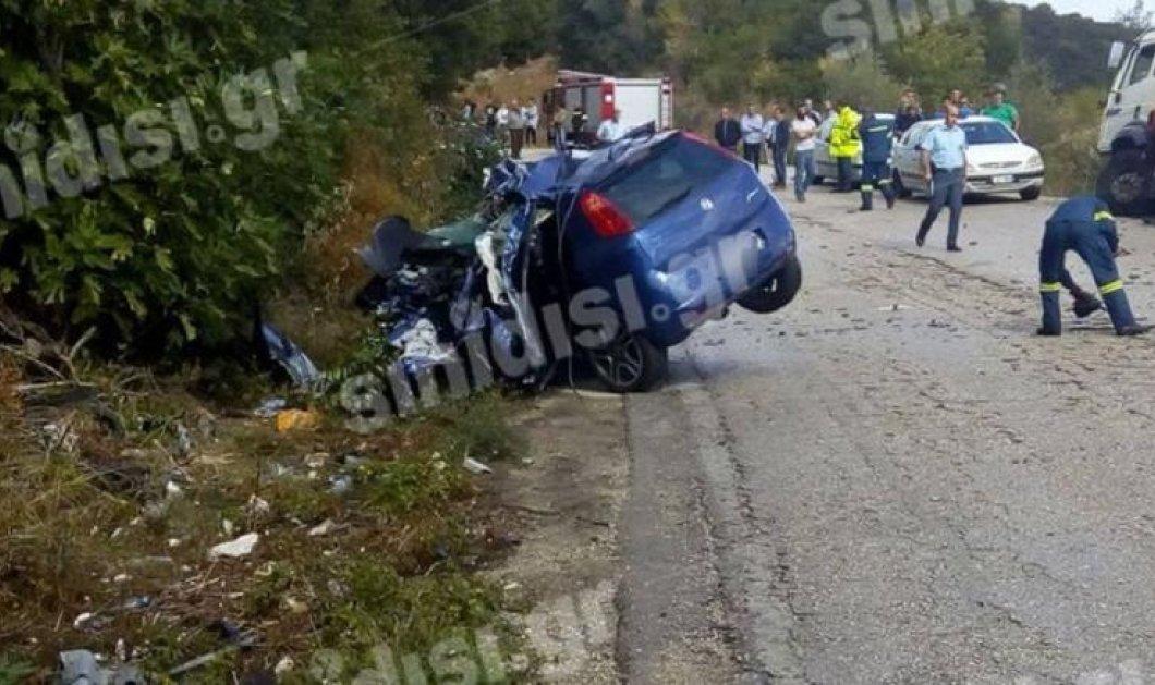 Τραγωδία στη Βόνιτσα: νεκροί δύο 20χρονοι σμηνίτες σε σύγκρουση του αυτοκινήτου τους με φορτηγό - Κυρίως Φωτογραφία - Gallery - Video