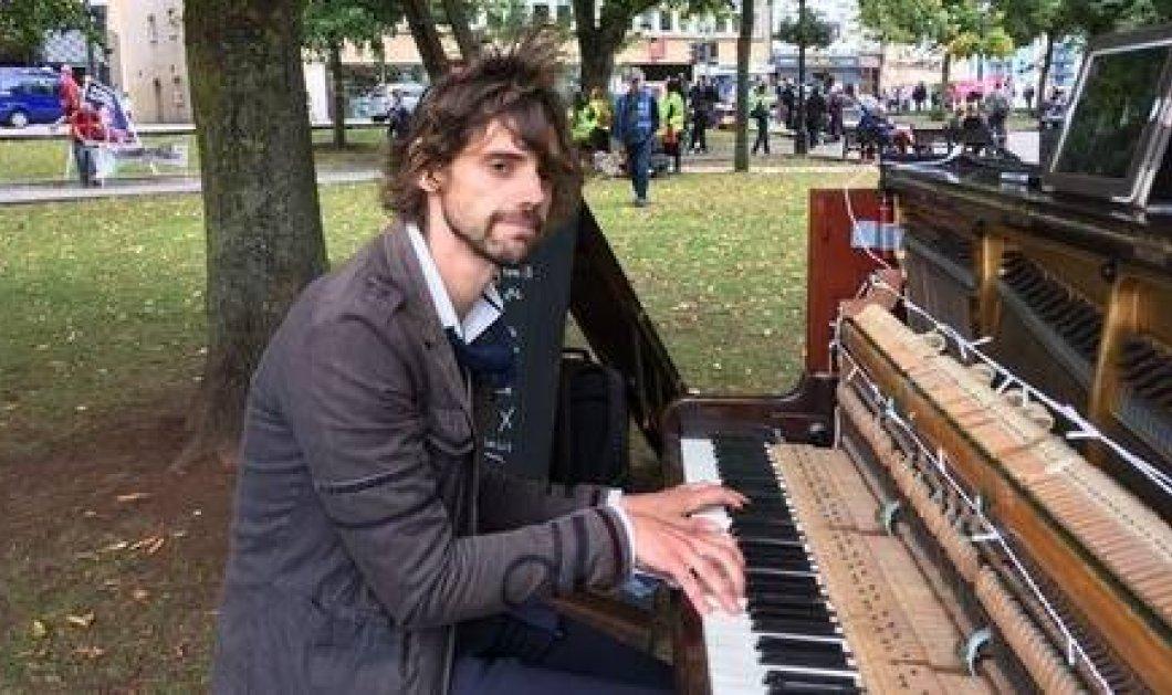 Ερωτευμένος πιανίστας έπαιζε 48 ώρες για να φέρει την αγαπημένη του πίσω - τον έδειραν & διέκοψε φωτό – βίντεο - Κυρίως Φωτογραφία - Gallery - Video