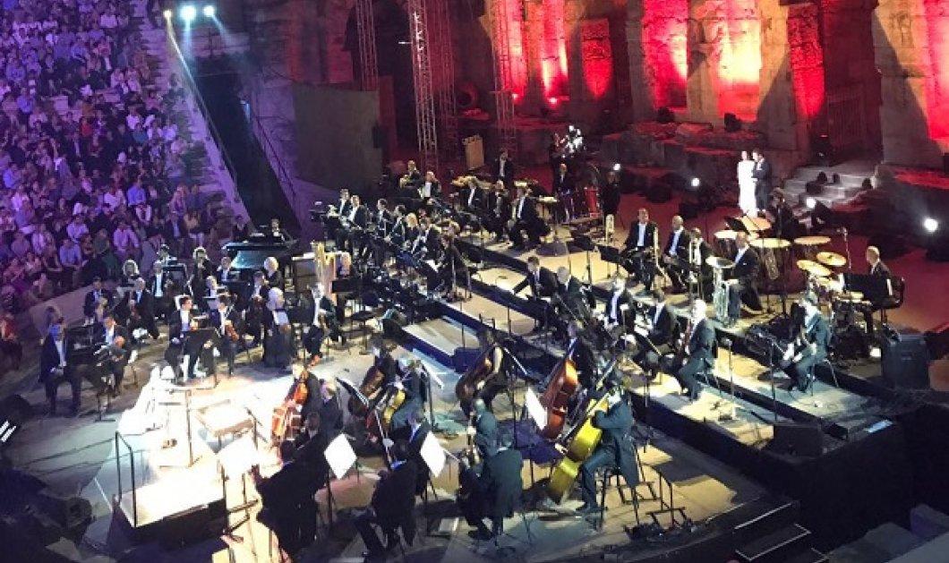 Το Ηρώδειο όρθιο εκστασιασμένο από το δίδυμο Φραγκούλη - Gheorghiu: Μια μαγική βραδιά (ΦΩΤΟ-ΒΙΝΤΕΟ) - Κυρίως Φωτογραφία - Gallery - Video