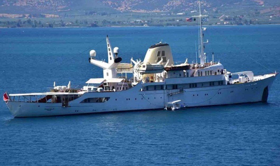 Η θρυλική θαλαμηγός Χριστίνα του Ωνάση κατέπλευσε στο Ναύπλιο (ΦΩΤΟ-ΒΙΝΤΕΟ) - Κυρίως Φωτογραφία - Gallery - Video