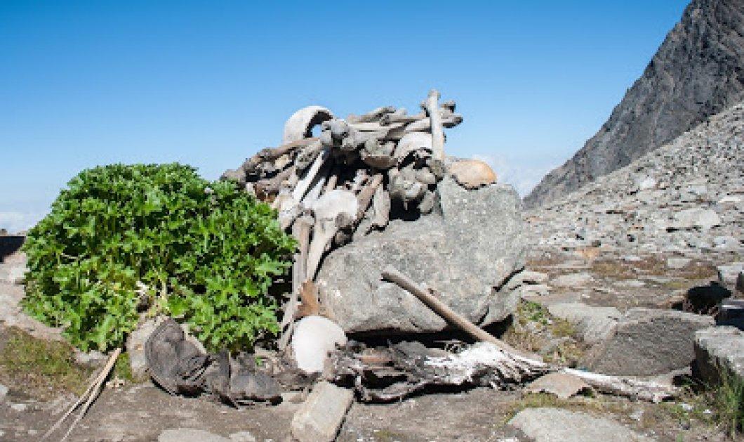 Η μυστηριώδης λίμνη όπου αποκαλύφθηκαν πάνω από 300 σκελετοί ανθρώπων στα 5.000 μέτρα - Κυρίως Φωτογραφία - Gallery - Video
