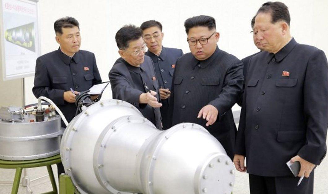 Κορυφώνεται η ανησυχία στον πλανήτη: Η Β. Κορέα έκανε δοκιμή πανίσχυρης βόμβας υδρογόνου – φωτό - Κυρίως Φωτογραφία - Gallery - Video