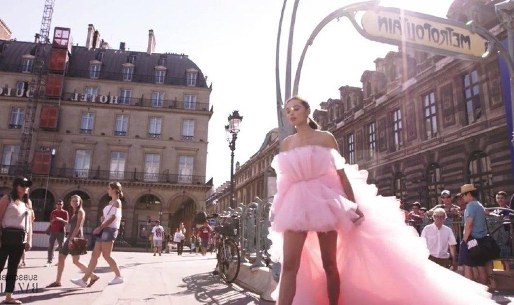Βίντεο: ωραιότατη κοπέλα φόρεσε ροζ νυφικό υπερπαραγωγή πήγε στο σούπερ μάρκετ πήρε το μετρό και.... - Κυρίως Φωτογραφία - Gallery - Video