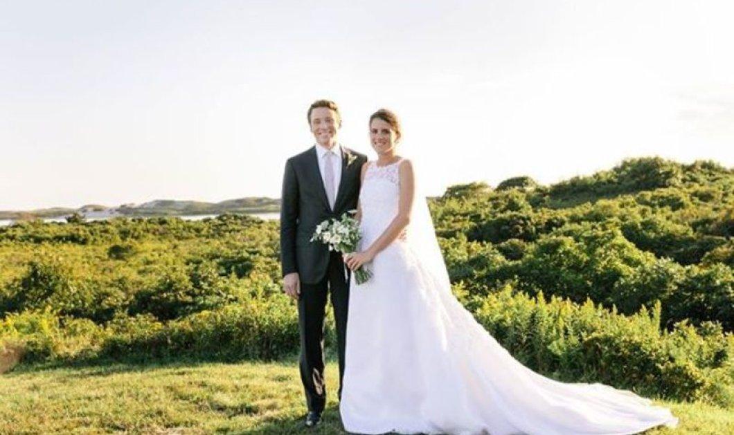 Παντρεύτηκε η εγγονή του Τζον και της Τζάκι Κένεντι - Το νυφικό ίδιο με της γιαγιάς της  - Κυρίως Φωτογραφία - Gallery - Video