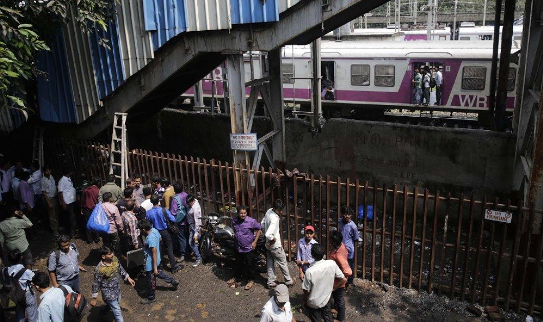«Βάρβαρος» θάνατος: Τουλάχιστον 22 νεκροί από ποδοπάτημα στο Μετρό του Μουμπάι - Κυρίως Φωτογραφία - Gallery - Video
