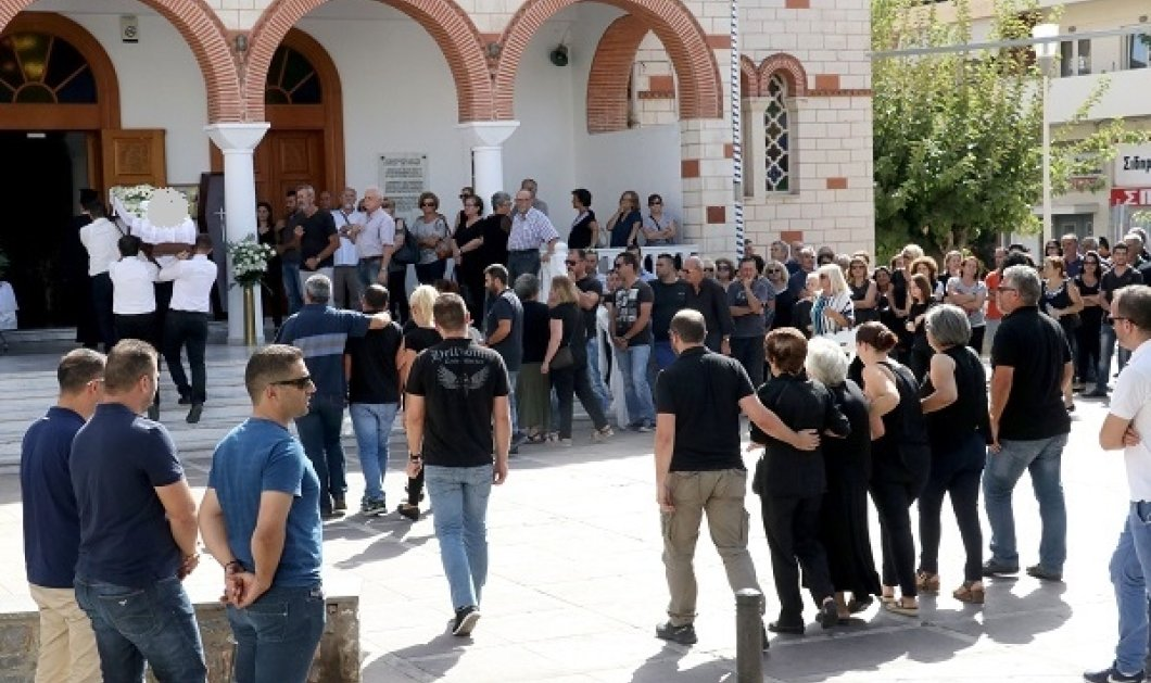 Θρήνος στο Ηράκλειο: Ράγισαν καρδιές στην κηδεία της 33χρονης μητέρας  - Κυρίως Φωτογραφία - Gallery - Video