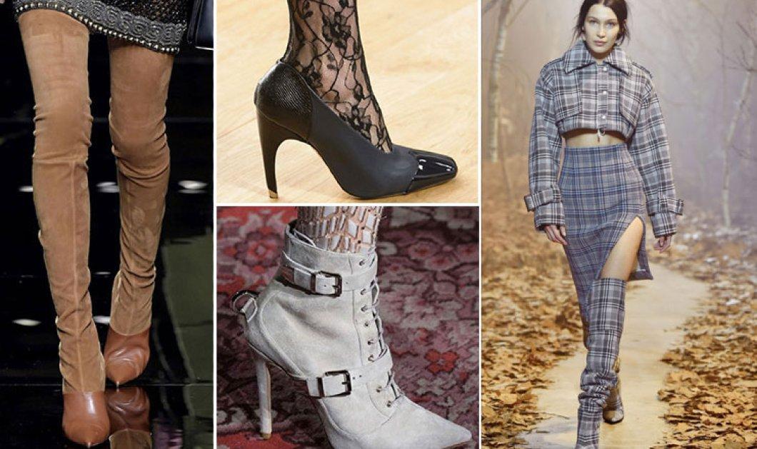 Τι προστάζει η μόδα στα παπούτσια για το Φθινόπωρο / Χειμώνα 2017 – 27 τάσεις που θα λατρέψετε - Κυρίως Φωτογραφία - Gallery - Video