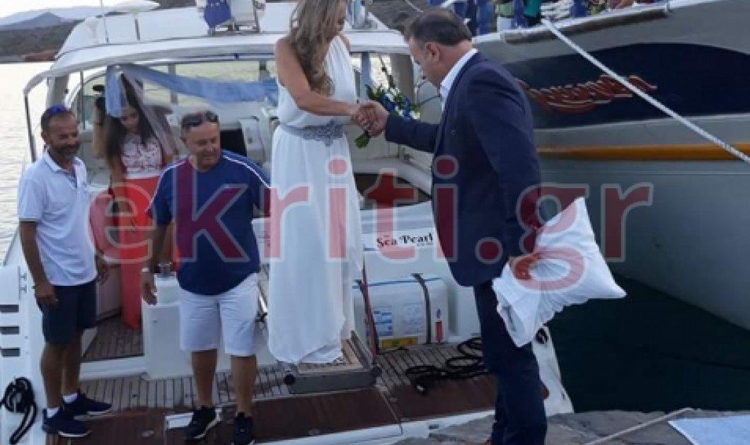 Κρήτη: Η νύφη έμαθε 2 μέρες ώρες πριν ότι παντρεύεται - Ο γαμπρός τα είχε ετοιμάσει όλα  - Κυρίως Φωτογραφία - Gallery - Video