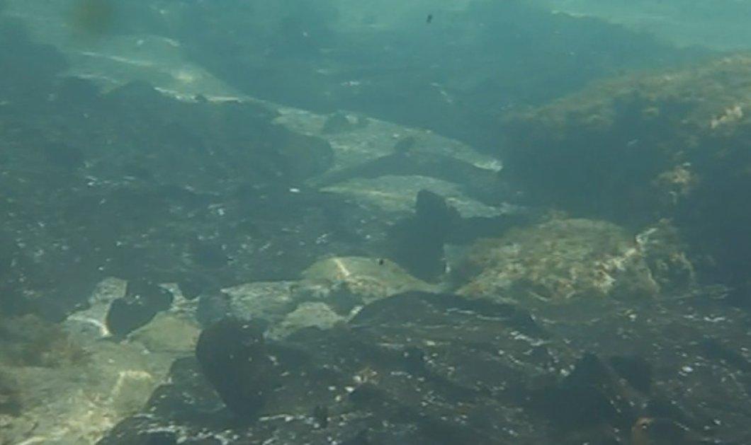 Συγκλονιστικές υποβρύχιες εικόνες από τη Σαλαμίνα: Γεμάτος κομμάτια μαζούτ ο βυθός (ΒΙΝΤΕΟ) - Κυρίως Φωτογραφία - Gallery - Video