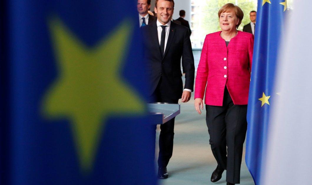 Συνάντηση Μακρόν και Μέρκελ μετά τις προτάσεις του Παρισιού για τη μεταρρύθμιση της Ευρώπης - Κυρίως Φωτογραφία - Gallery - Video