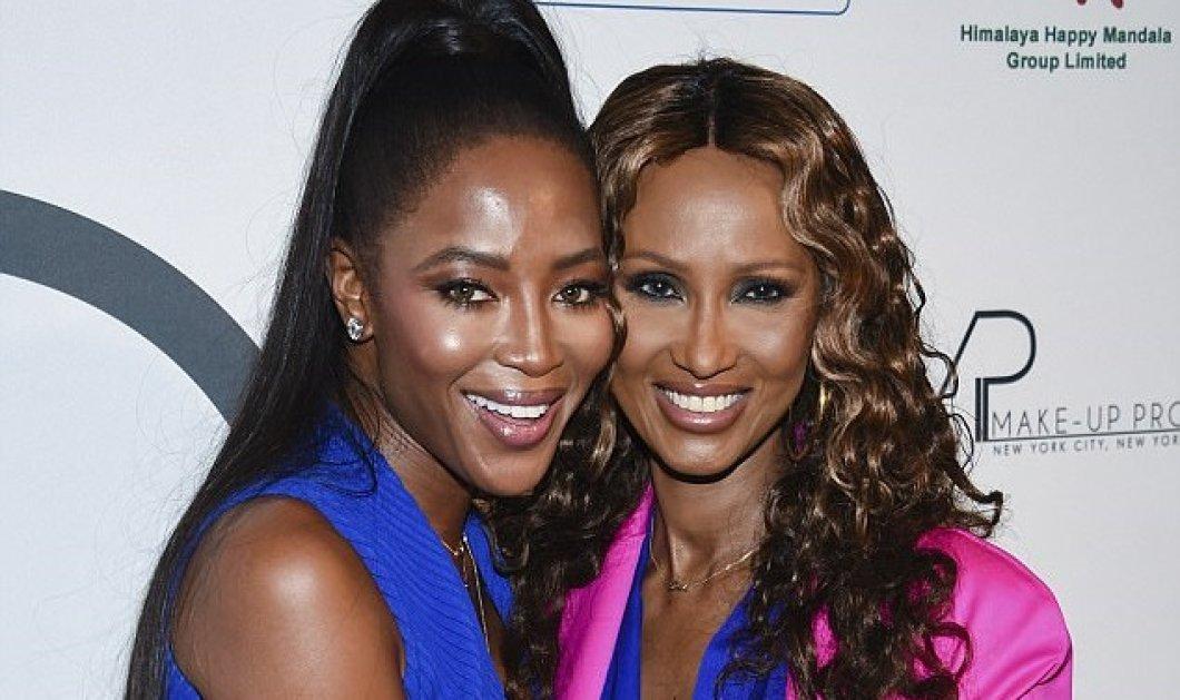 Η 47χρονη Ναόμι & η 62χρονη Ιμάν μαζί: Οι δυο ωραιότερες μαύρες της πασαρέλας σε σπάνια συνάντηση (ΦΩΤΟ-ΒΙΝΤΕΟ) - Κυρίως Φωτογραφία - Gallery - Video