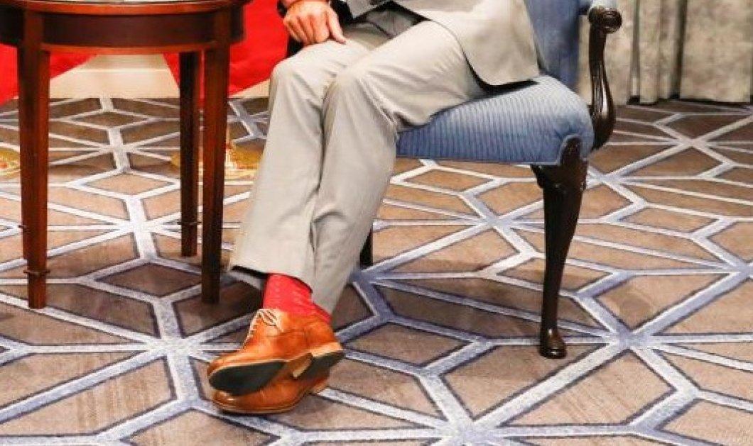 Ποιος αρχηγός κράτους έβαλε κόκκινες κάλτσες & κανελί παπούτσια σε επίσημη συνάντηση; (ΦΩΤΟ) - Κυρίως Φωτογραφία - Gallery - Video