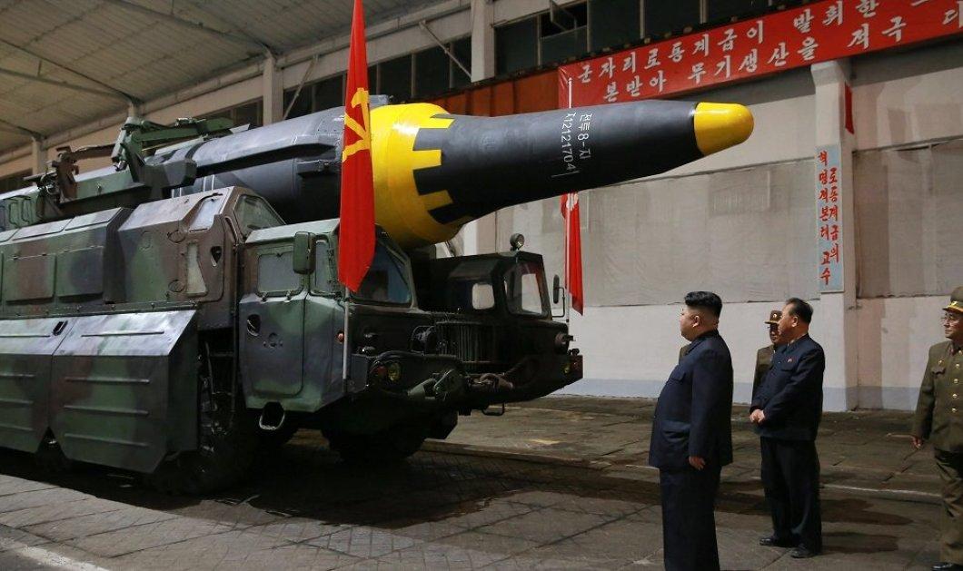 Νέα πρόκληση από τον Κιμ Γιονγκ Ουν: Η Βόρεια Κορέα μεταφέρει διηπειρωτικό πύραυλο στις ακτές - Κυρίως Φωτογραφία - Gallery - Video