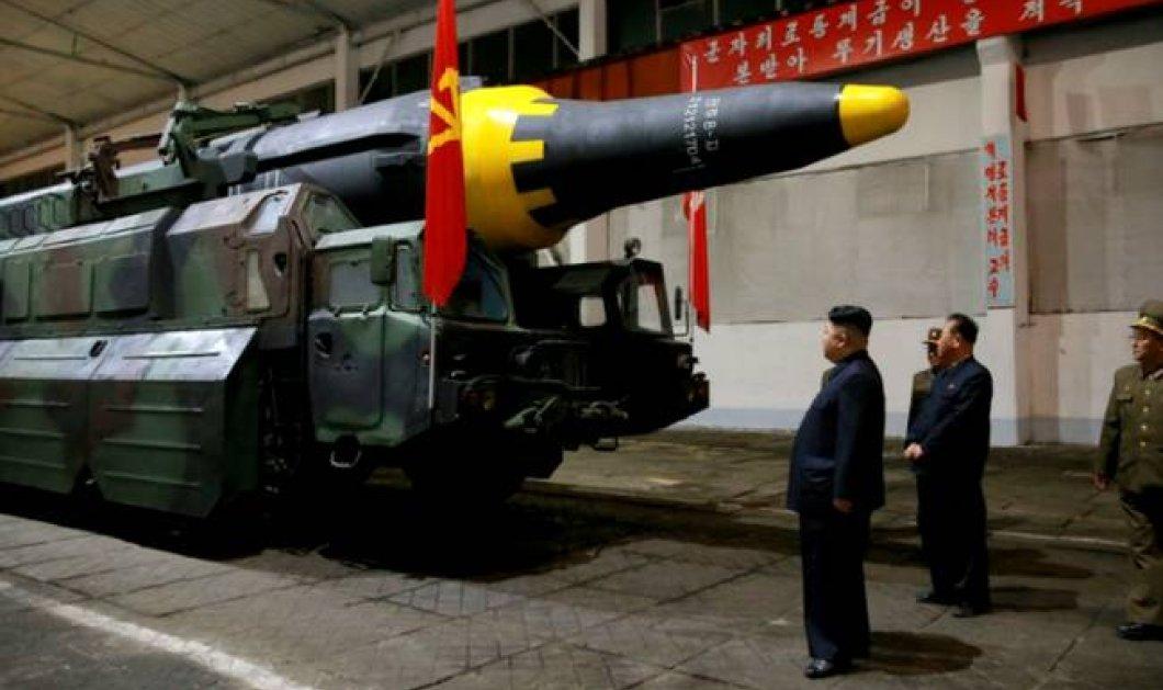 Η Βόρεια Κορέα συνεχίζει το πυρηνικό της πρόγραμμα παρά τις κυρώσεις από τον ΟΗΕ - Κυρίως Φωτογραφία - Gallery - Video