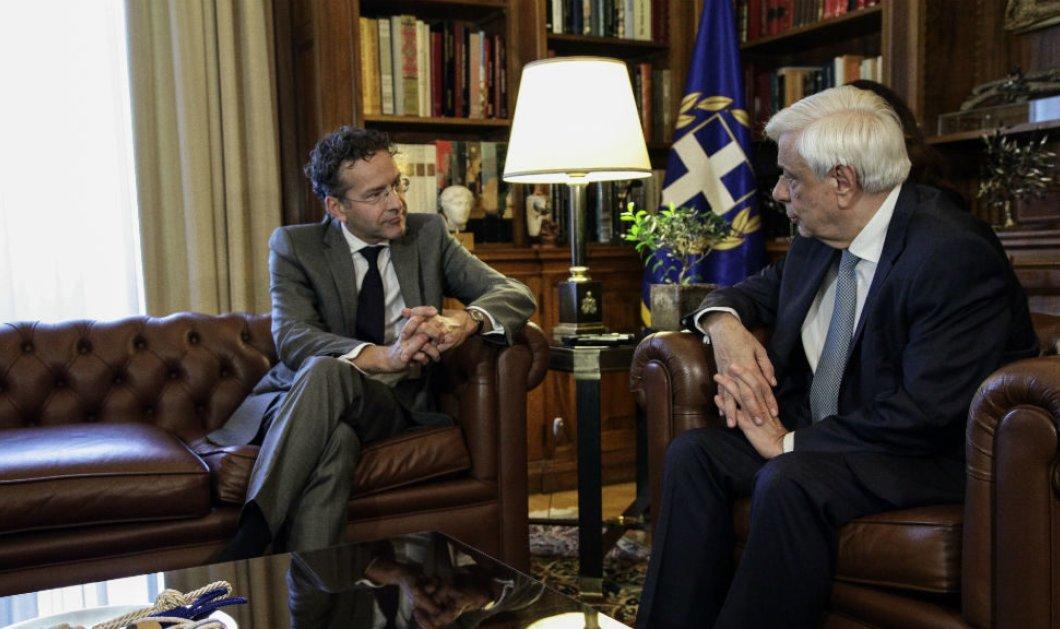 Προκόπης Παυλόπουλος σε Γερούν Ντάισελμπλουμ: Να ανταποκριθούν οι εταίροι μας στις δεσμεύσεις τους έναντι της Ελλάδας  - Κυρίως Φωτογραφία - Gallery - Video