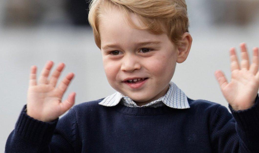 20.000 κοστίζει το νηπιαγωγείο του πρίγκιπα Τζορτζ: μαθαίνουν φιλοσοφία & γκολφ αλλά απαγορεύονται οι κολλητοί - Κυρίως Φωτογραφία - Gallery - Video