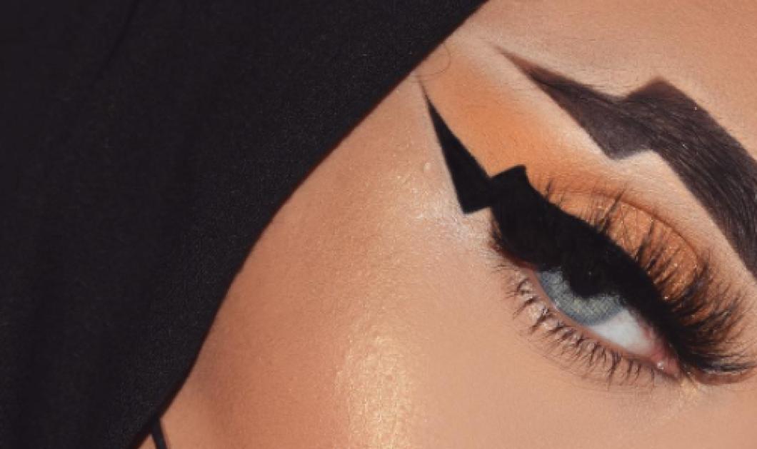 Μάτια - βροντή ! Η νέα μόδα θέλει φρύδια & eyeliner σε σχήμα μαύρης αστραπής! Δείτε φωτό - Κυρίως Φωτογραφία - Gallery - Video