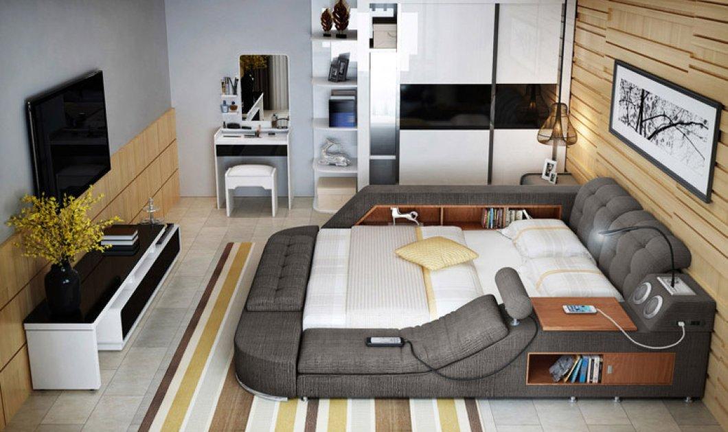 Αυτό είναι το κρεβάτι - σαλόνι - γραφείο - σπα: Όλα σε 1 και σε πολλά χρώματα - Κυρίως Φωτογραφία - Gallery - Video