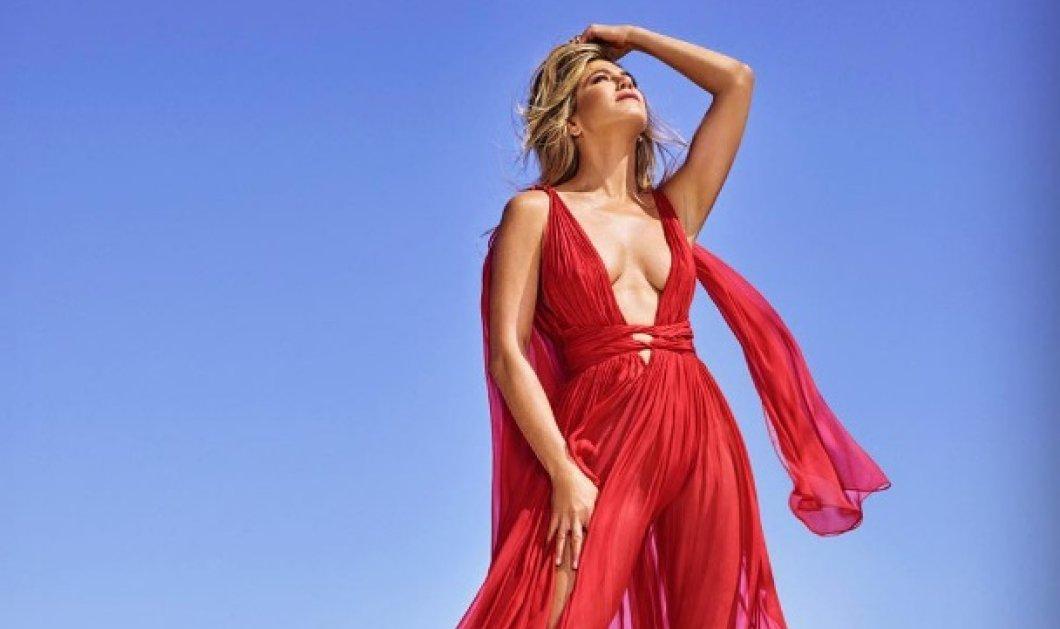 Τζένιφερ Άνιστον - ντύνεται σαν Ελληνίδα θεά Αφροδίτη & παραδέχεται: Λατρεύω το μαύρισμα σαν γνησία Ελληνίδα (ΦΩΤΟ) - Κυρίως Φωτογραφία - Gallery - Video
