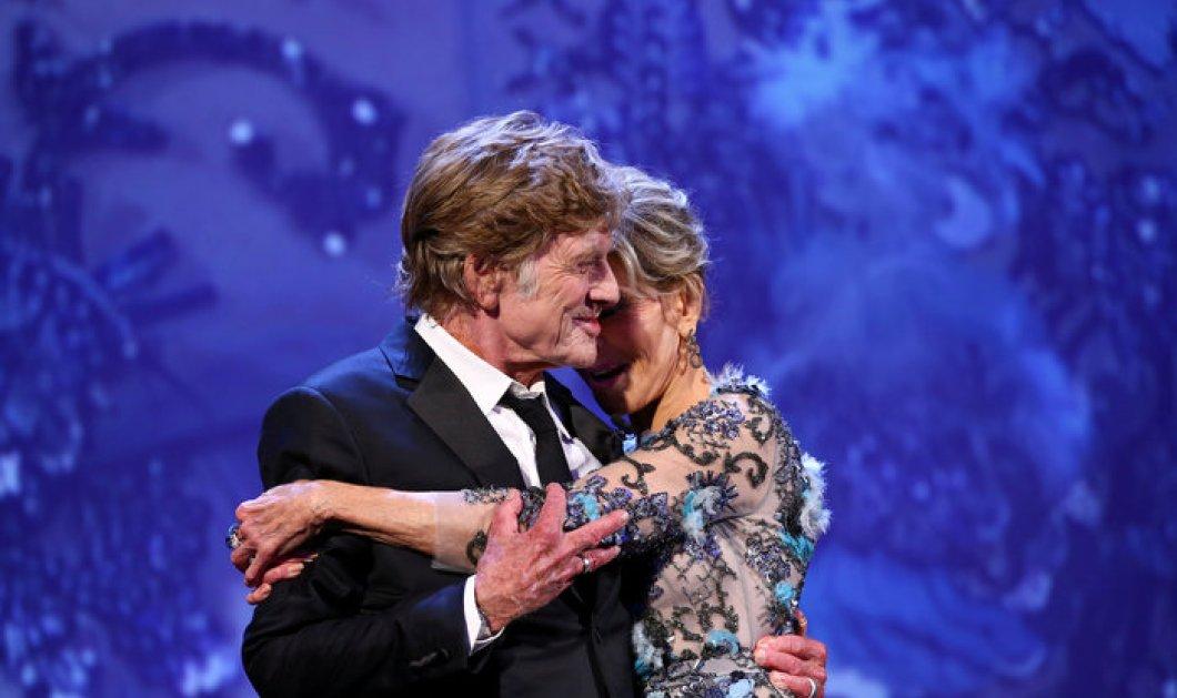 Εκείνη 79χρονη, εκείνος 81: αθεράπευτα ερωτευμένοι η Τζέην Φόντα & ο Ρόμπερτ Ρέντφορντ στη Βενετία - Κυρίως Φωτογραφία - Gallery - Video