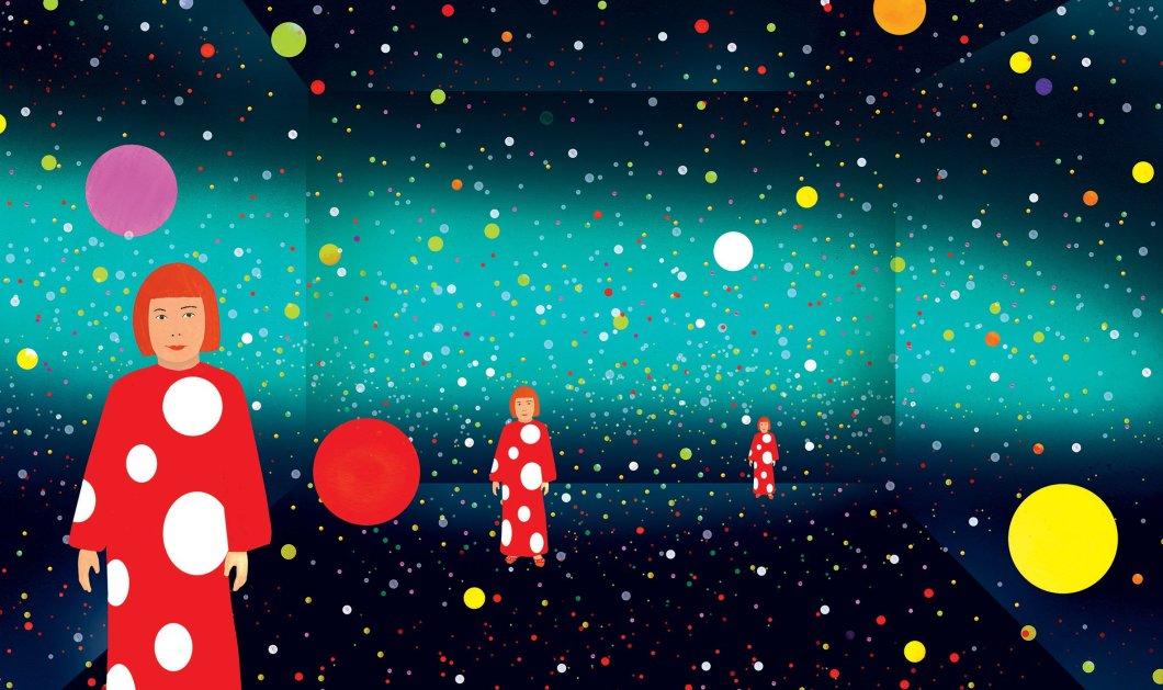 Η τόσο παράξενη ζωή και το συναρπαστικό έργο της Γιαγόι Κουσάμα έγιναν μοναδικό βιβλίο για παιδιά - Κυρίως Φωτογραφία - Gallery - Video