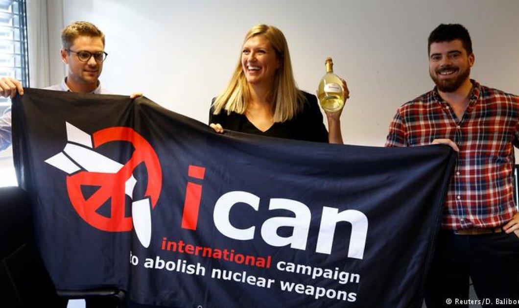Νόμπελ Ειρήνης: Σε οργάνωση υπέρ της κατάργησης των πυρηνικών  - Κυρίως Φωτογραφία - Gallery - Video