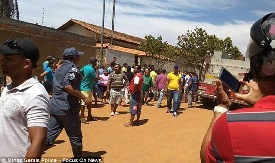 Φωτο - βίντεο: Τραγωδία σε σχολείο στη Βραζιλία - 5 μωράκια κάηκαν ζωντανά από την φωτιά που έβαλε ο φρουρός  - Κυρίως Φωτογραφία - Gallery - Video