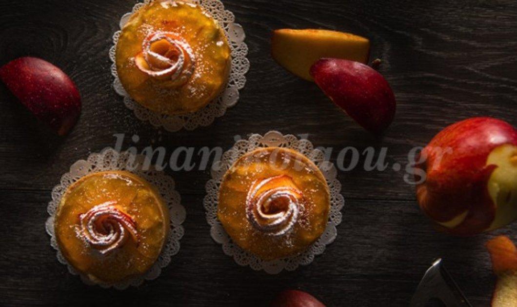 Φτιάξετε τα εντυπωσιακά ταρτάκια με τριανταφυλλένια μήλα από την Ντίνα Νικολάου  - Κυρίως Φωτογραφία - Gallery - Video