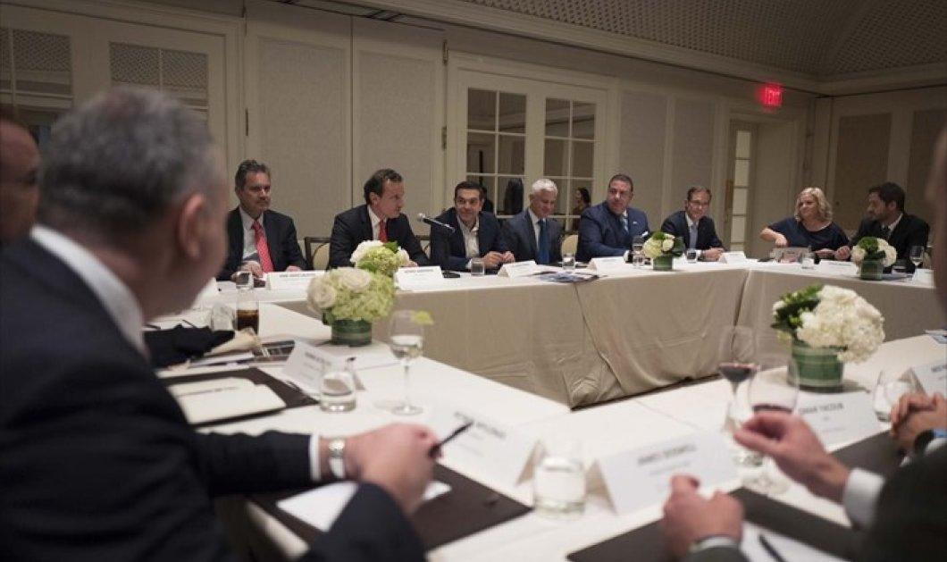 Συνάντηση Τσίπρα με επενδυτικά funds - Δείτε πόσα δις διαθέτει το καθένα  - Κυρίως Φωτογραφία - Gallery - Video