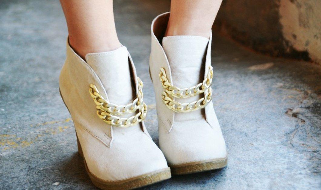 Πως να ανανεώσετε τα παλιά σας παπούτσια με απλούς τρόπους: Με τρουκς παγιέτες glitter  - Κυρίως Φωτογραφία - Gallery - Video
