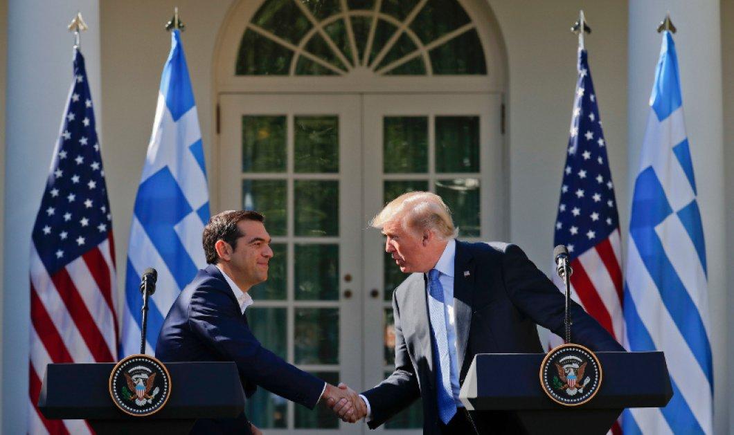 Συνάντηση Τραμπ - Τσίπρα: «Επιβεβαίωσα τη στήριξη μας για αξιόπιστη ανακούφιση από το χρέος» (ΦΩΤΟ-ΒΙΝΤΕΟ) - Κυρίως Φωτογραφία - Gallery - Video