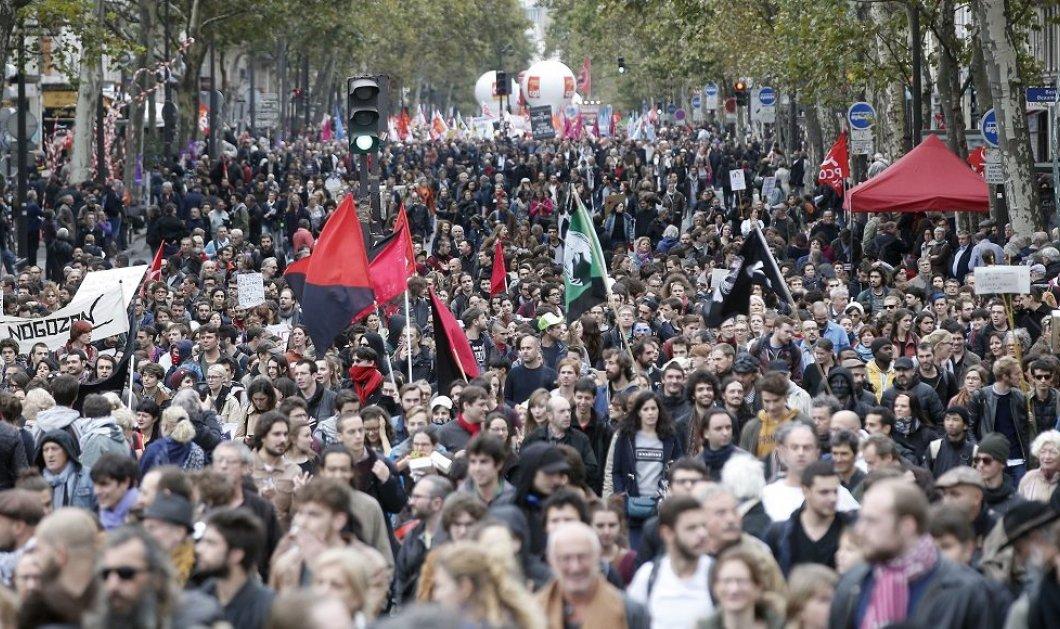 Στους δρόμους πάνω από 400.000 Γάλλοι για τα μέτρα της κυβέρνησης Μακρόν - Κυρίως Φωτογραφία - Gallery - Video