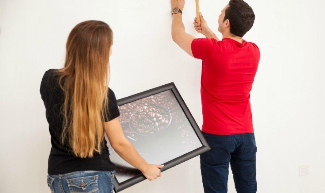 Μια πολύ απλή και πανέξυπνη λύση για να κλείσετε τις τρύπες από καρφιά στον τοίχο!  - Κυρίως Φωτογραφία - Gallery - Video