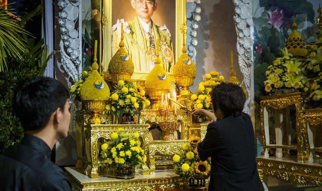 Η πιο ακριβή κηδεία του κόσμου: 90 εκ για τον ηγεμόνα της Ταϊλάνδης - Βασιλιάδες & πλήθος κόσμου δείτε φωτο  - Κυρίως Φωτογραφία - Gallery - Video