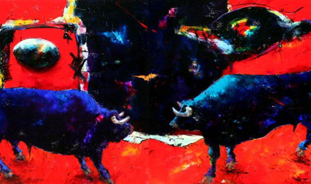 """Με ατομική έκθεση ο κορυφαίος ζωγράφος μας Κωστής Γεωργίου """"κοκκινίζει"""" το Λονδίνο -Τα εγκαίνια 26 Οκτωβρίου (ΦΩΤΟ) - Κυρίως Φωτογραφία - Gallery - Video"""