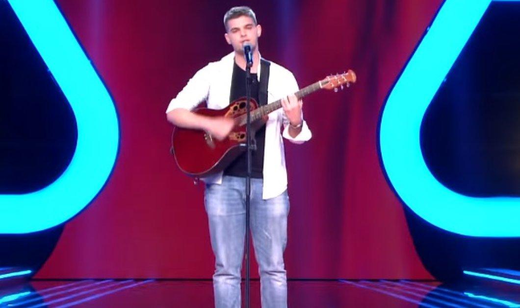 Ο 18χρονος όμορφος Κρητικός που «τρέλανε» τους κριτές του The Voice (ΒΙΝΤΕΟ) - Κυρίως Φωτογραφία - Gallery - Video