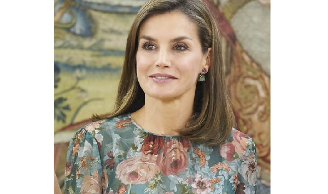 Η Βασίλισσα της Ισπανίας Λετίσια φόρεσε ένα φουστάνι Zara και πλήρωσε 49,5 ευρώ - Δείτε την φωτο  - Κυρίως Φωτογραφία - Gallery - Video