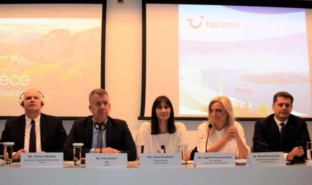 Good news: Ο κολοσσός TUI στην Ελλάδα έτοιμος για 10 νέα  ξενοδοχεία & 26 ακόμη ελληνικά λιμάνια για κρουαζιέρες  - Κυρίως Φωτογραφία - Gallery - Video