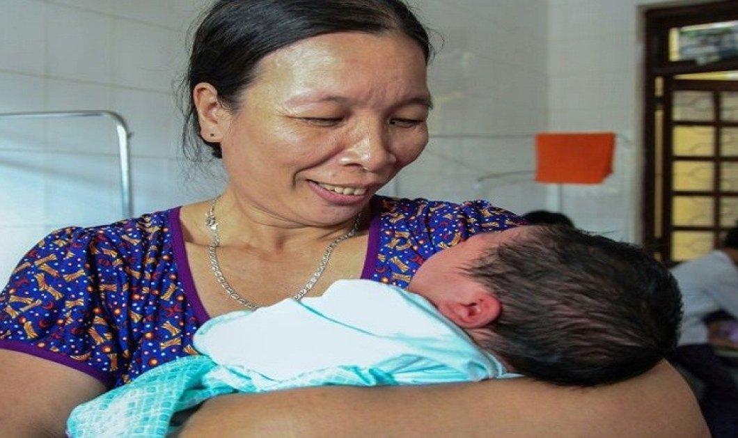 Πρωτοφανές: Βιετναμέζα γέννησε αγοράκι βάρους 7,1 κιλά  - Κυρίως Φωτογραφία - Gallery - Video