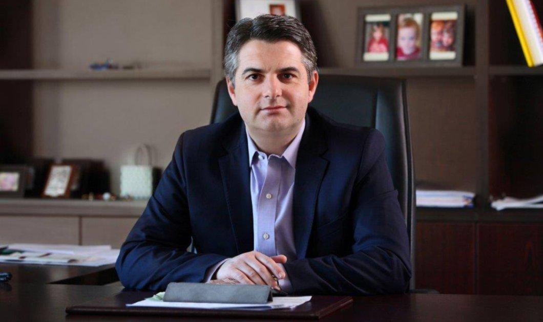 Κεντροαριστερά: Αποσύρει την υποψηφιότητά του ο Οδυσσέας Κωνσταντινόπουλος - Κυρίως Φωτογραφία - Gallery - Video