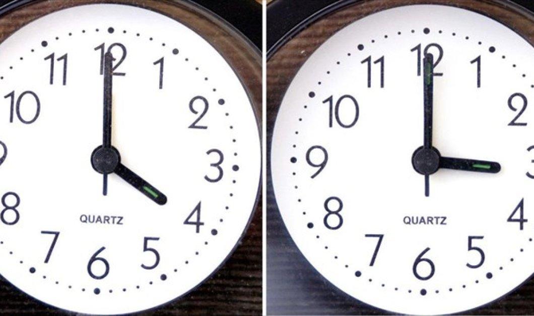 Αλλάζει η ώρα την Κυριακή  - Κυρίως Φωτογραφία - Gallery - Video