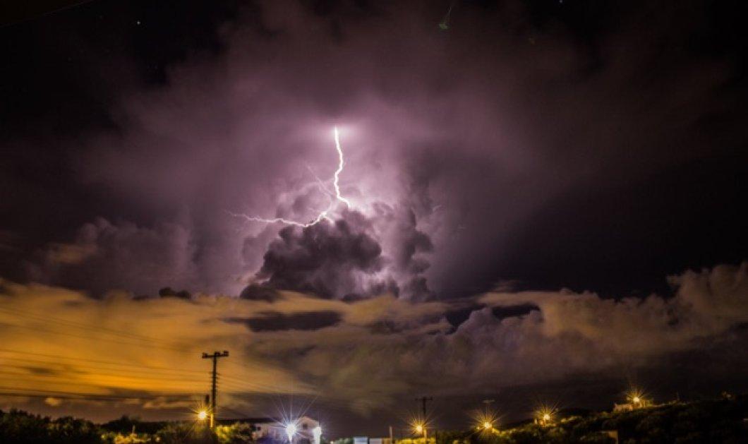 Εντυπωσιακές φωτογραφίες: Ο «Δαίδαλος» έκανε έργο τέχνης τον ουρανό της Κρήτης! - Κυρίως Φωτογραφία - Gallery - Video