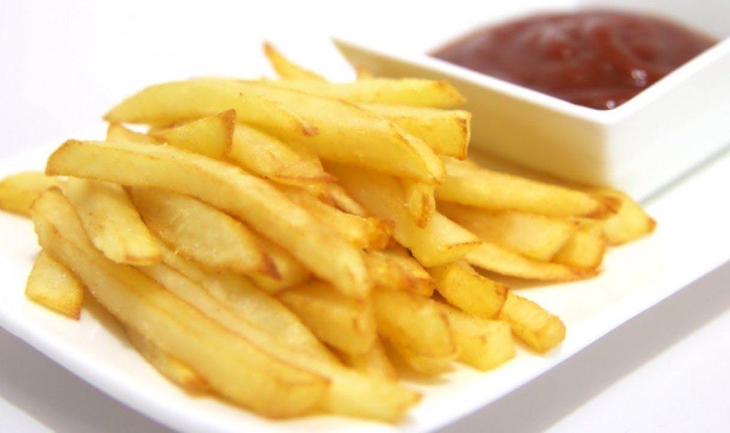 Δείτε τι πρέπει να κάνετε για να είναι πιο υγιεινές οι τηγανιτές πατάτες - Κυρίως Φωτογραφία - Gallery - Video